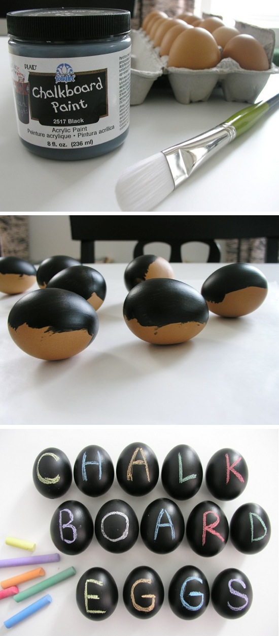Chalkboard Eggs