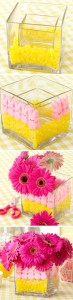 Peeps Flower Vase Centerpiece Image