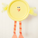Paper Plate Baby Chick