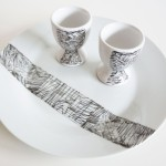 Scribble Decorated Porcelain