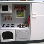 Homemade Play Kitchen