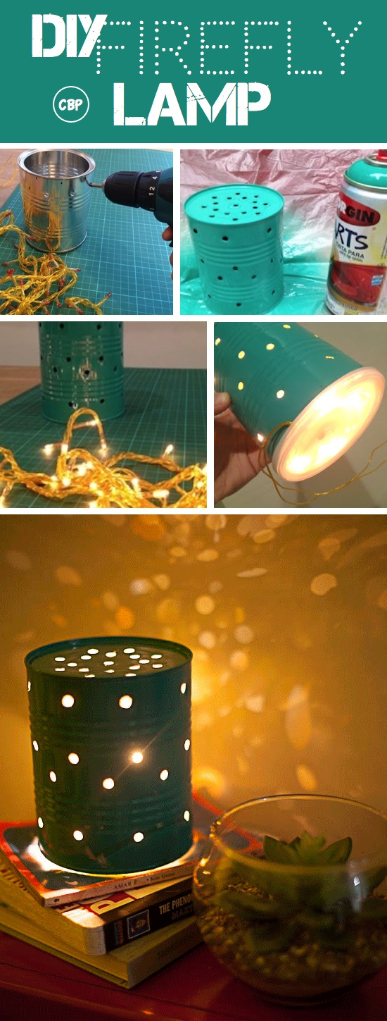How to Make a Firefly Lamp