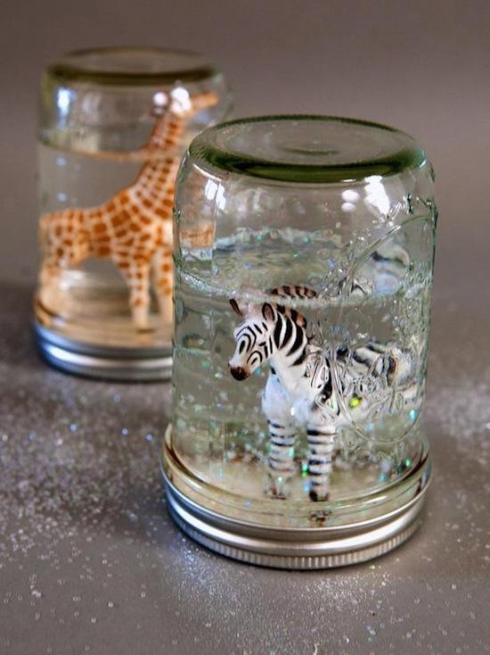 mason jar glitter globe craft by photo. Black Bedroom Furniture Sets. Home Design Ideas