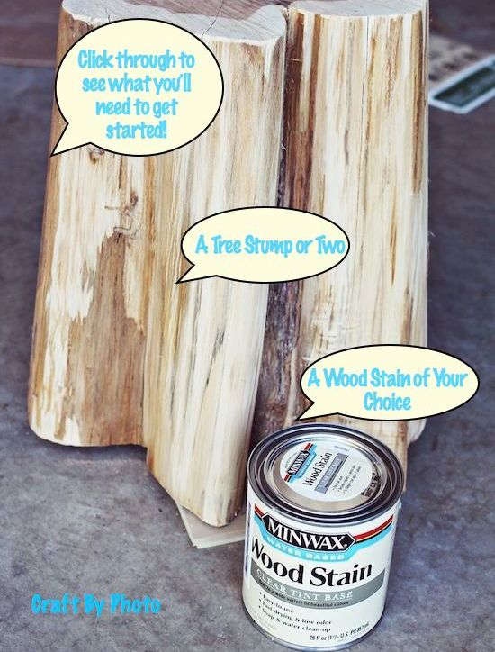 Tree Stump Tables slider #2