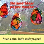 Stained Glass Paper Maché