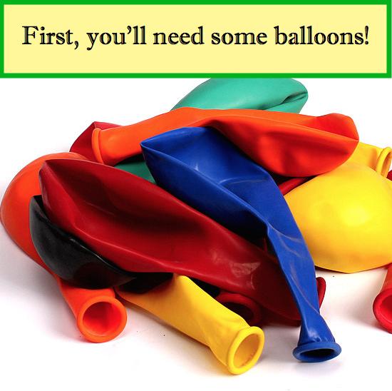 balloons slide