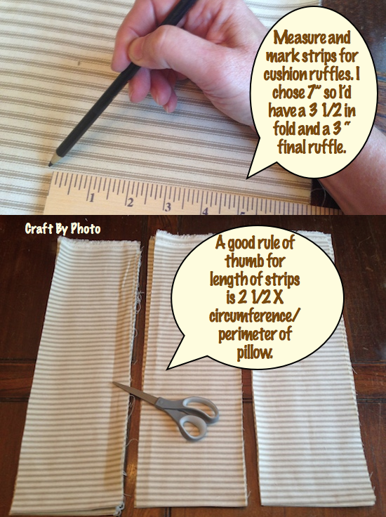 measure cut strips