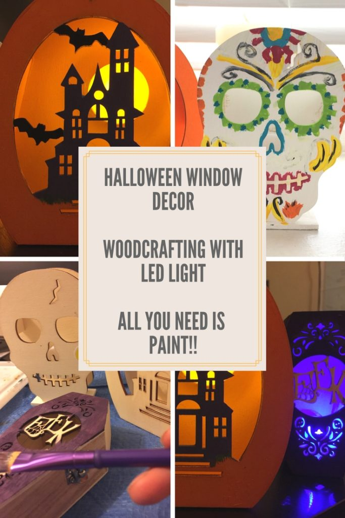 Halloween Woodcrafts ready to paint